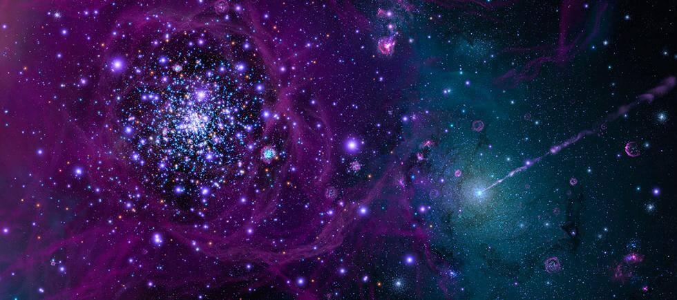ponovna povezava-vesolje in zvezde