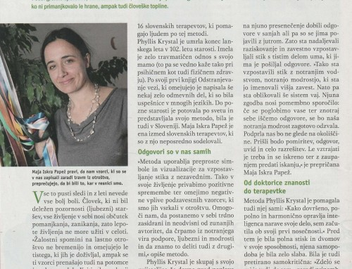 Članek v reviji Vzajemnost